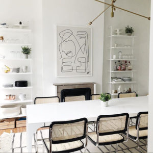 Get the Look, Un coin repas aux accents scandinaves